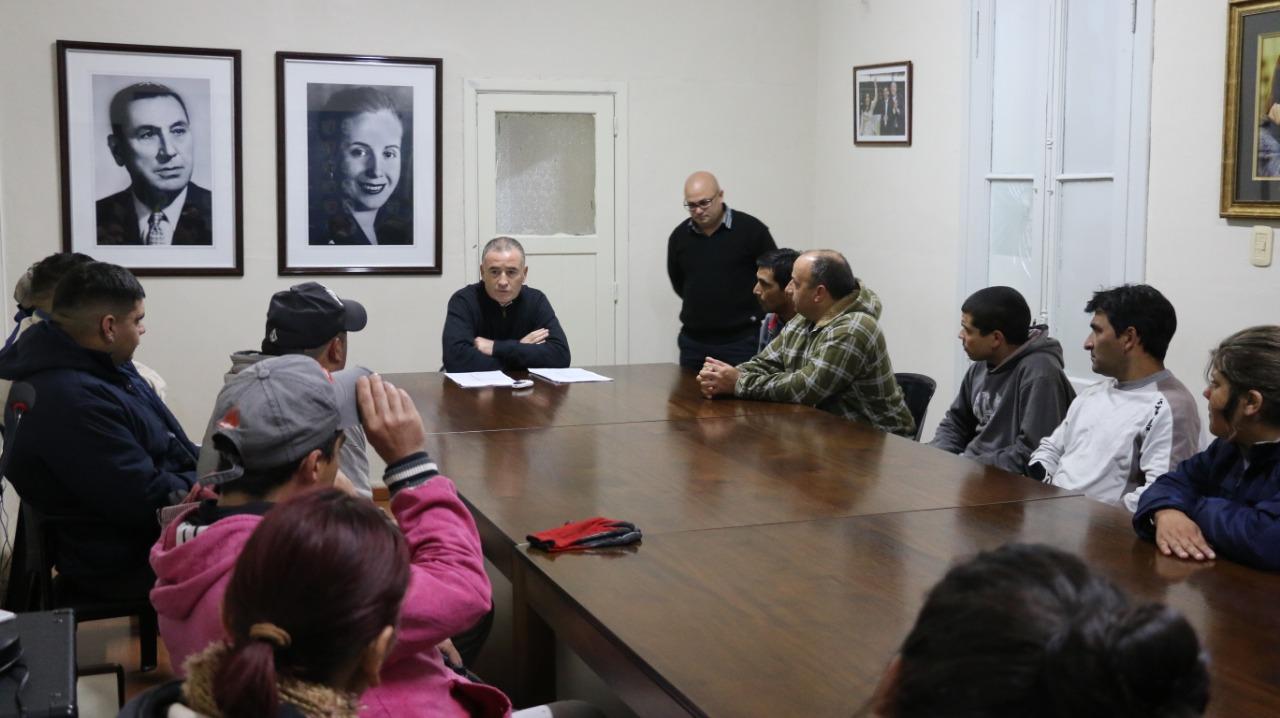 El intendente municipal Mauro Poletti volvió a sus funciones una vez finalizada la licencia correspondiente.