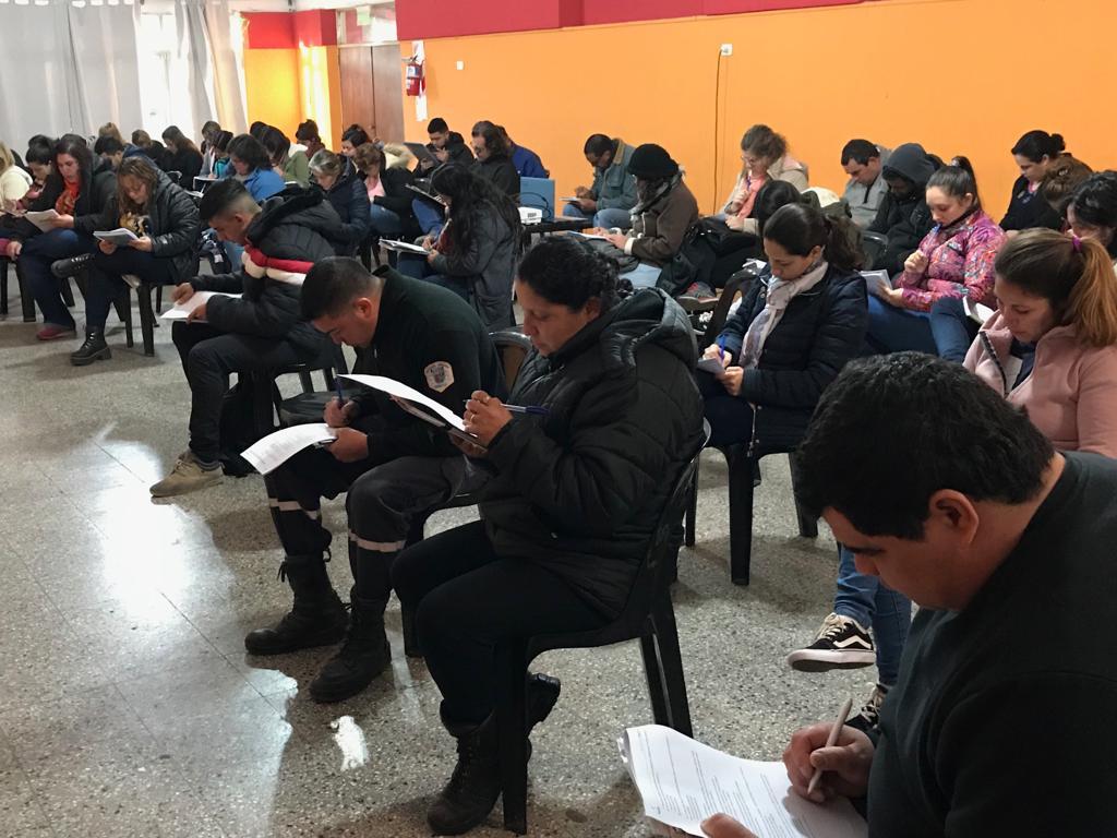 Este miércoles 24 de julio se llevó a cabo la última clase del curso de Monitoreo y Alarmas dictado por la Secretaría de Seguridad de la Municipalidad de Ramallo para los empleados estatales.