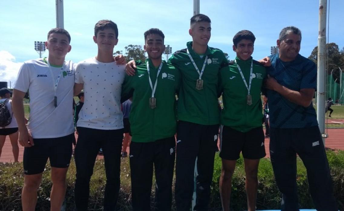 El joven atleta de Pérez Millán, Lisandro Portillo, se consagro campeón nacional al estar representando a la provincia de Buenos Aires en los Juegos Nacionales Evita que se desarrollan en Mar del Plata.