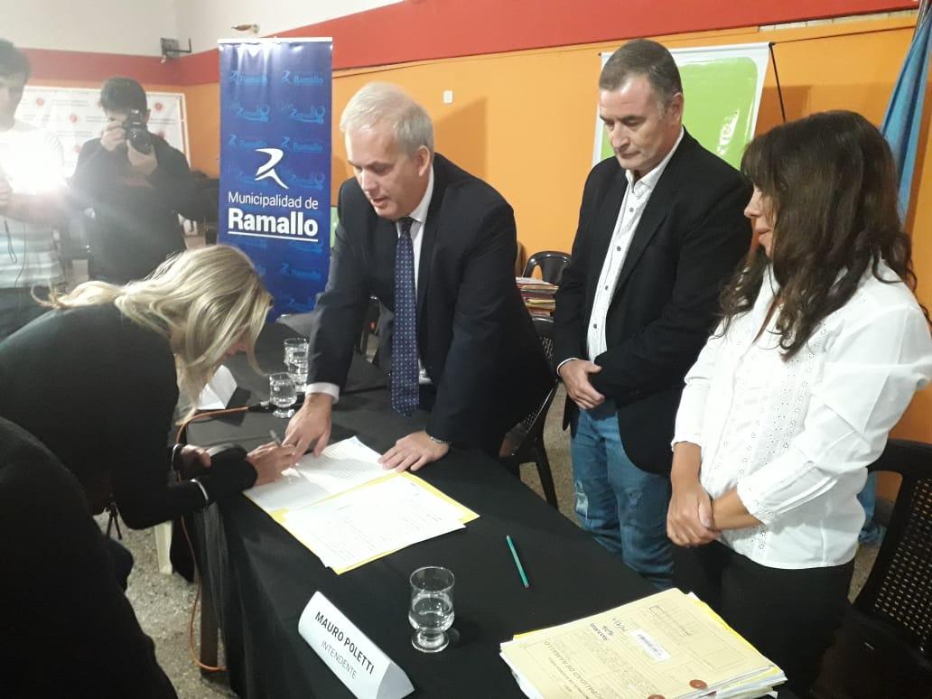 Organizado en conjunto por la Escribanía General de Buenos Aires y la Municipalidad de Ramallo, se llevó a cabo en el Centro de Comercio, Turismo e Industria.