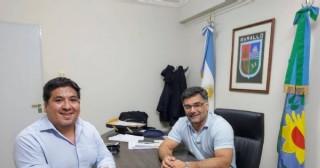 El intendente recibió al diputado Matías Ranzini