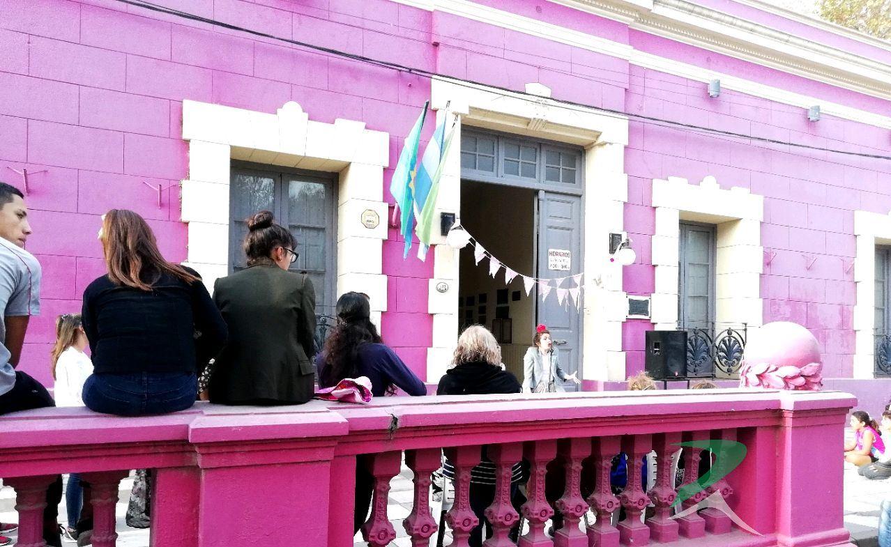 En el Museo municipal Hércules Rabagliati se festejó el Día Internacional de los Museos.