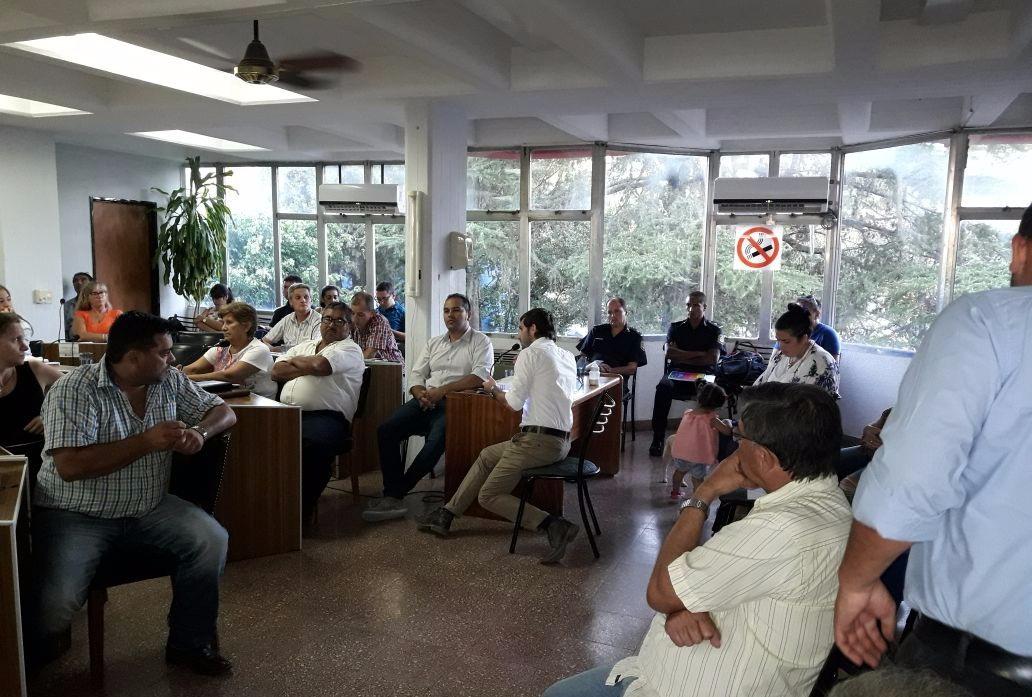 Funcionarios de la cartera de Seguridad municipal fueron recibidos por los concejales en el recinto. Allí respondieron las preguntas expuestas y defendieron la gestión municipal en el área. El plenario fue pedido por los concejales del bloque Cambiemos.