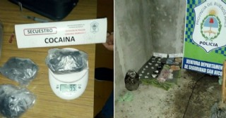 Allanamiento exitoso: Encuentran cocaína y dinero