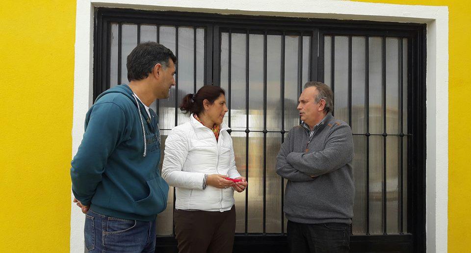 El diputado provincial Gustavo Vignali visitó esta semana nuestra ciudad, para apoyar y acompañar en una caminata por la localidad, al candidato a concejal por Cambiemos, Gustavo Perie.