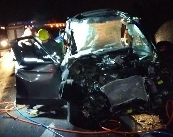 Este jueves se produjo un accidente de tránsito en la Autopista 9, que dejó el saldo lamentable de una persona fallecida, mientras que otras tres resultaron con heridas de gravedad.