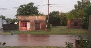 El temporal causó complicaciones en Villa Ramallo