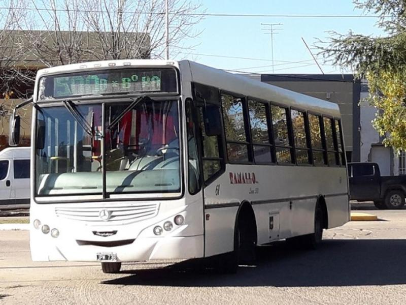 Sin transporte público por paro