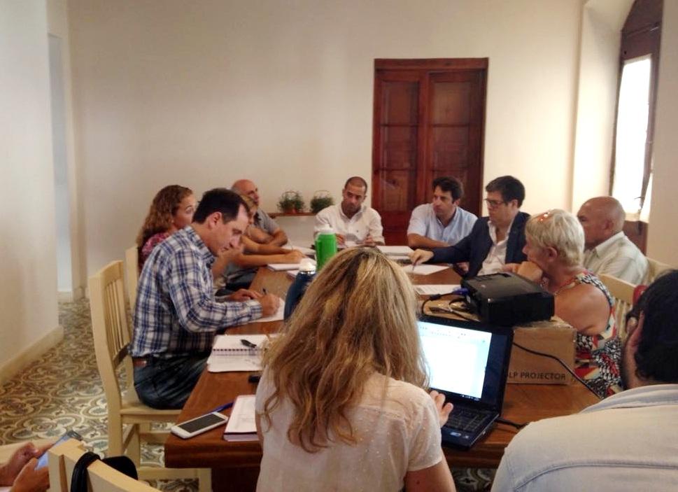 Este lunes 20 de febrero, en la oficina de la Dirección de Turismo de la Municipalidad de San Pedro, se llevó a cabo la primera reunión de la Mesa Agropecuaria Multisectorial.