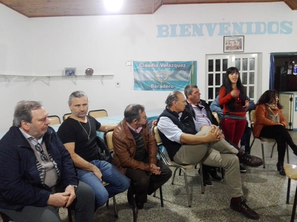Con la presencia del senador Sergio Berni y el diputado Marcos Di Palma, se hizo la presentación oficial del Partido Republicano Federal de Ramallo.