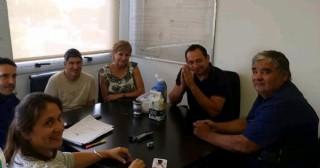 Lescano se reunió con el Director Provincial de Delegaciones del Ministerio de Trabajo