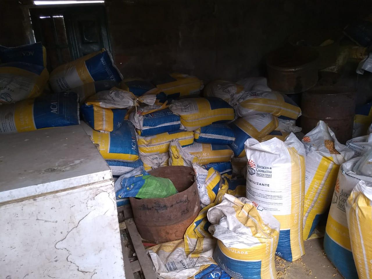 Un productor agropecuario denunció que este fin de semana ingresaron en el campo que arrenda y se llevaron más de 1500 kilos de maíz a granel.