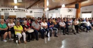 Entrega de escrituras para vecinos de Ramallo