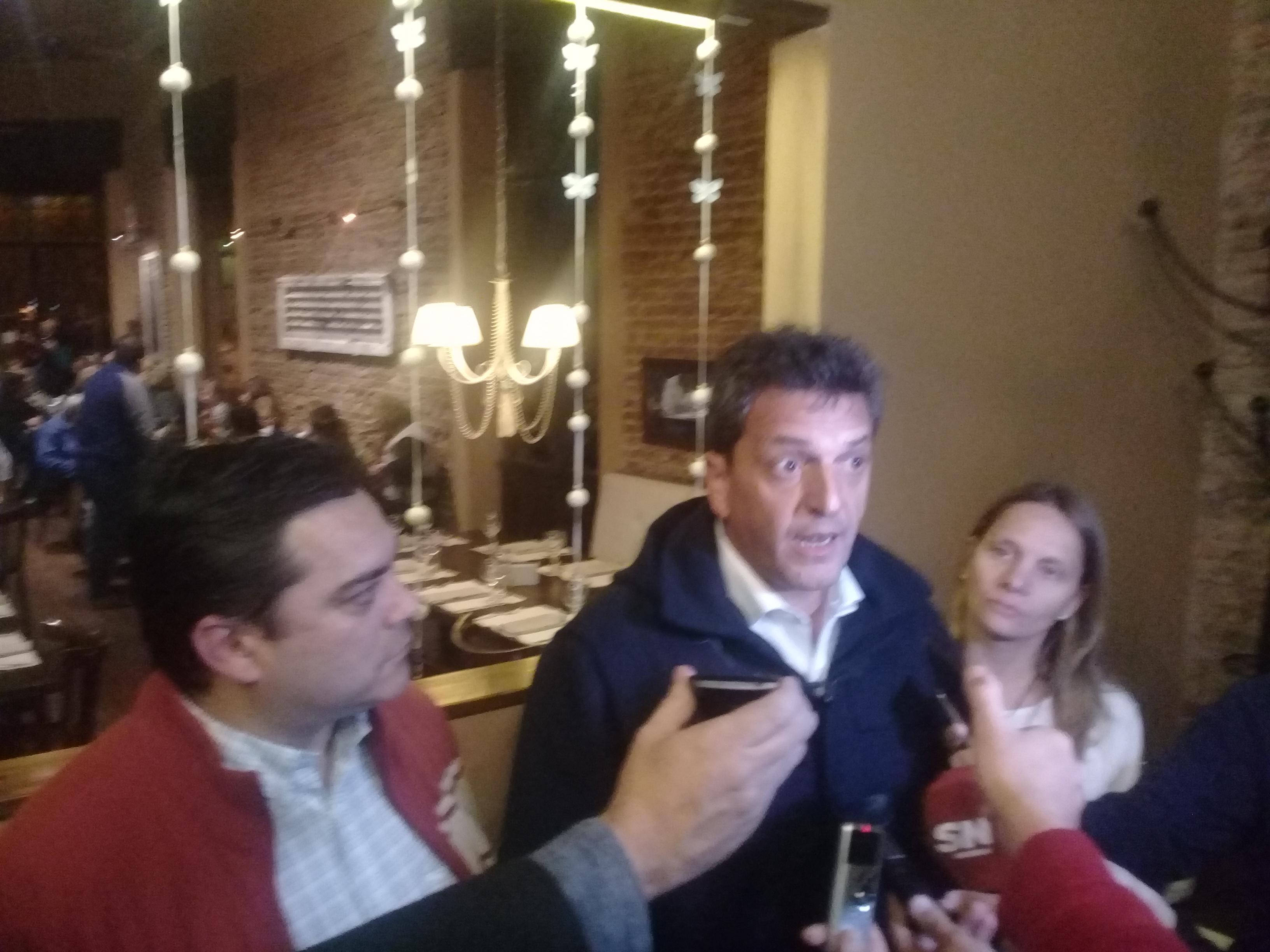 El líder del Frente Renovador y candidato a senador nacional por 1País, Sergio Massa, visitó este lunes 4 de septiembre nuestra región, de cara a las legislativas de octubre.