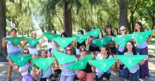 Ramallo se adhirió al Pañuelazo por el aborto legal