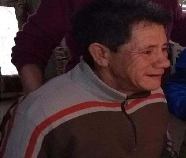 Por estas horas se realiza un despliegue a los fines de dar con el paradero de Miguel Ángel Suárez, de 55 años, desocupado y domiciliado en calle Azopardo de la localidad de Pérez Millán.