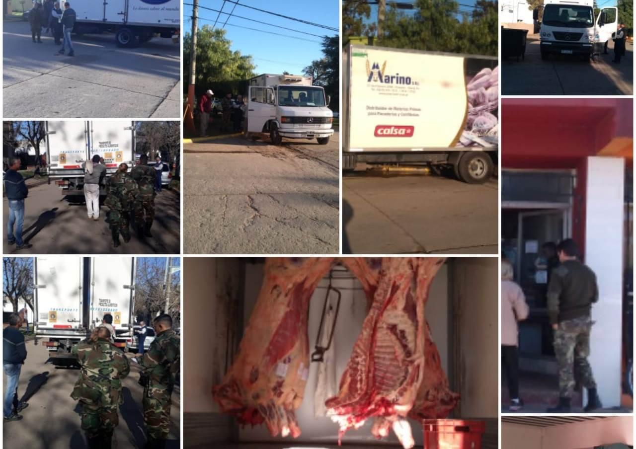 La Municipalidad de Ramallo, a través de su departamento de Bromatología, realizo controles en carnicerías del partido.
