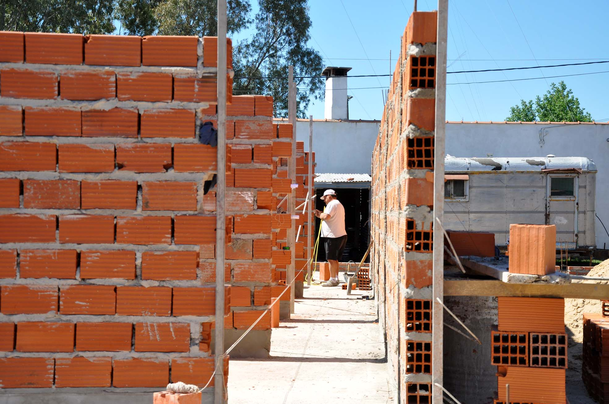 Detenidos por robo en una obra en construcción