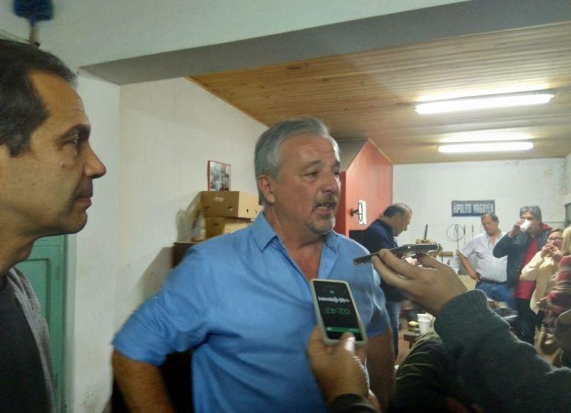 Domingo triunfal para el intendente Rossi.