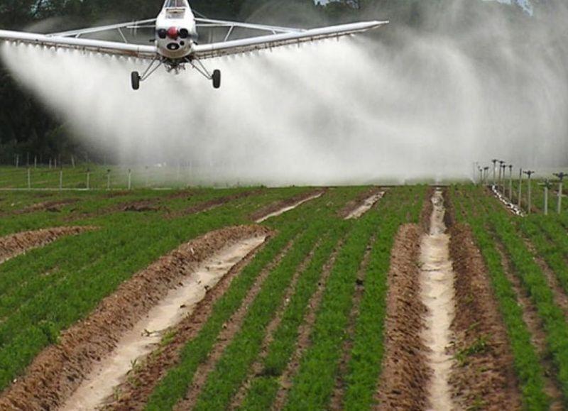Agrotóxicos, uno de los temas importantes.