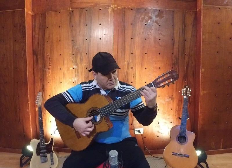 Concertista de guitarra.