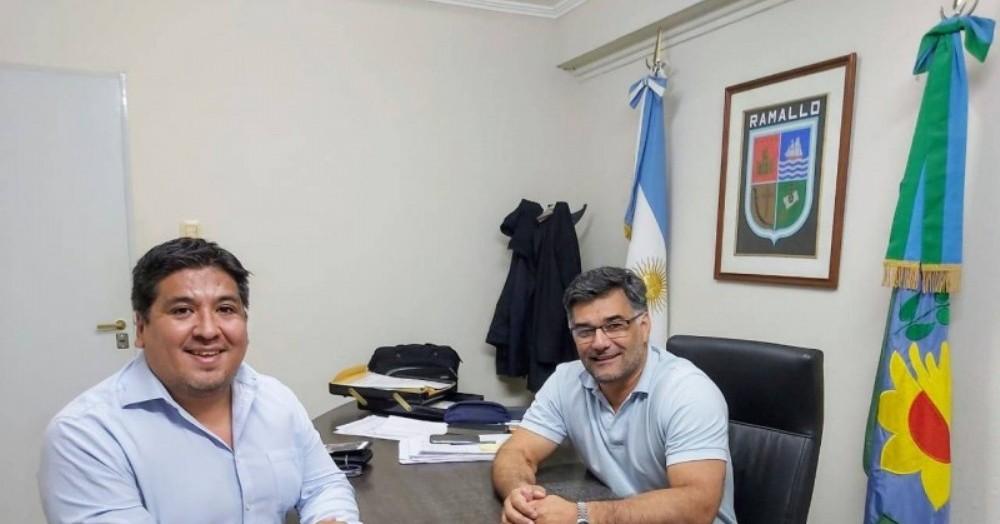 Matías Ranzini y Gustavo Perie.