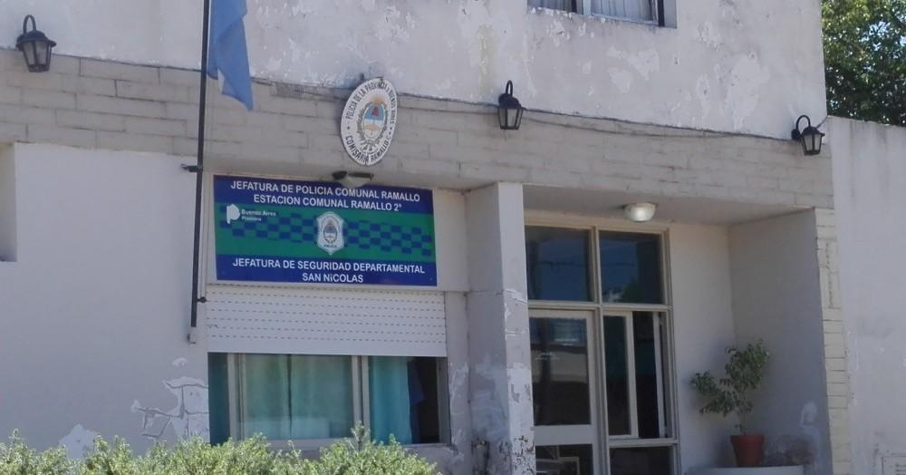 La sede policial en cuestión.