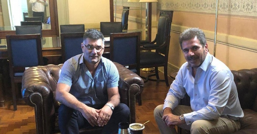 Gustavo Perie y Cristian Ritondo.
