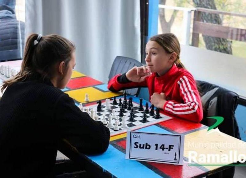 Destacada performance en ajedrez.
