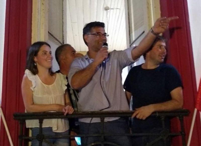 Gustavo Perie, intendente electo.