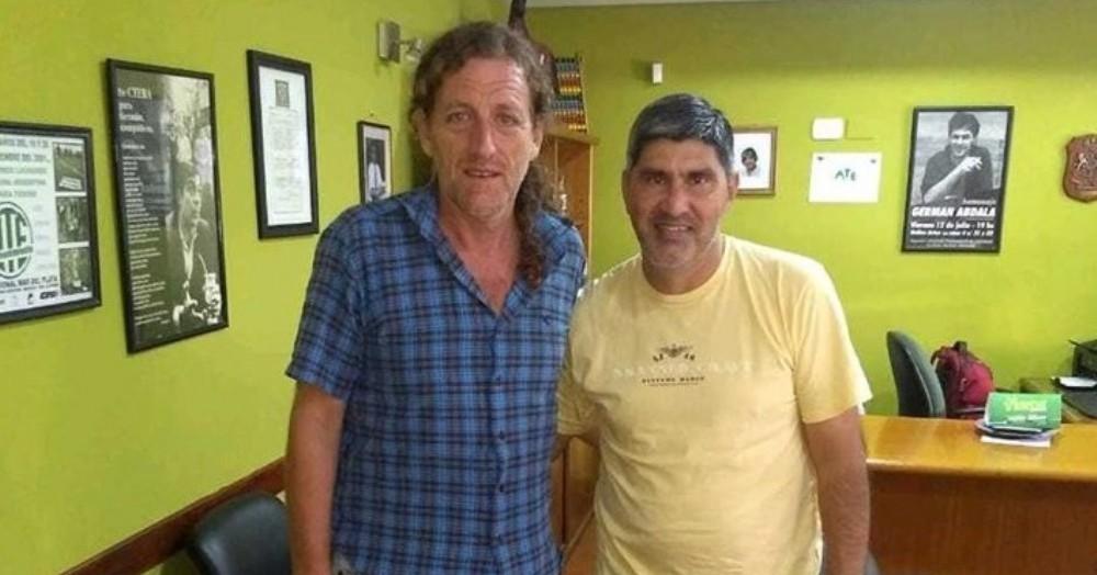 Oscar de Isasi y Adrián Lescano.
