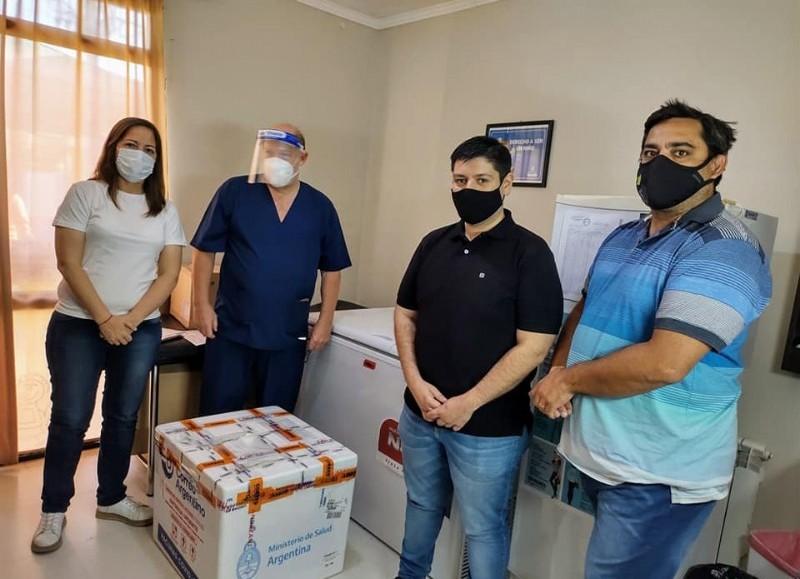 La Municipalidad de Ramallo recibió las vacunas contra el coronavirus, las mismas fueron derivadas al Hospital José María Gomendio.