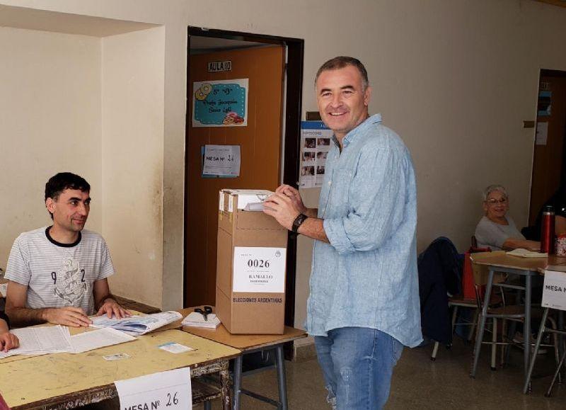 El sufragio del intendente Mauro Poletti.