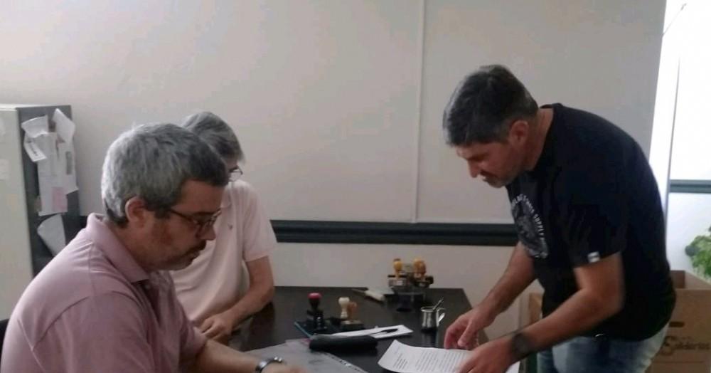 Acción encabezada por Adrián Lescano.