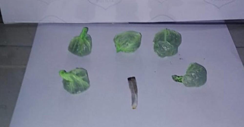 El pesaje arrojó que los sujetos tenían 11,6 gramos de marihuana.