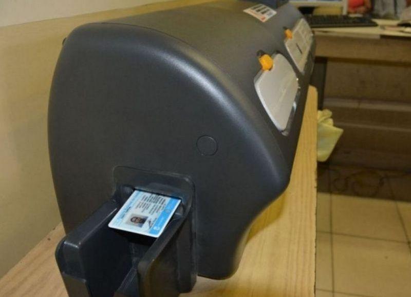 La impresora para los trámites.
