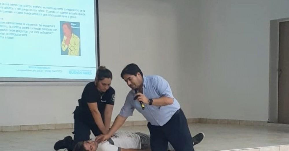 Por el Ministerio de Salud bonaerense