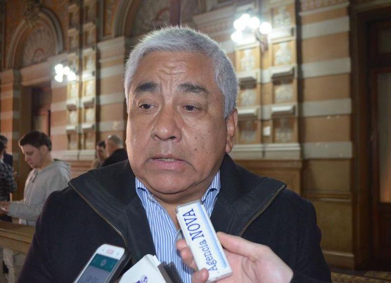 """El intendente Cecilio Salazar se mostró """"conmocionado"""" por estos hechos."""