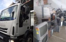 Se recolectaron más de dos toneladas de residuos electrónicos