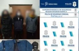 Dos detenidos tras robar 70 mil pesos