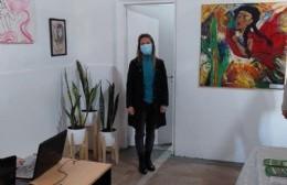 La concejal Ricciardelli recorrió el Centro Cultural de Villa Ramallo