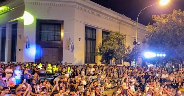 Festejos por el aniversario Villa Ramallo