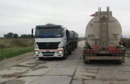 La Secretaría de Seguridad advirtió por el estacionamiento de camiones en el Camino de la Costa