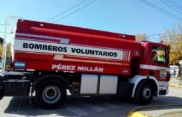 Bomberos de Pérez Millán renueva la Comisión Directiva