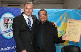 Mauro Poletti y José Luis Villavicencio Ordoñez.