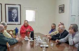 Poletti se reunió con los centros de jubilados