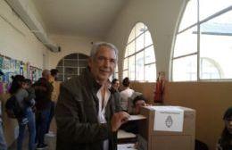 El voto del intendente.