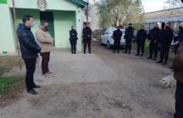 Reunión de coordinación de seguridad en El Paraíso