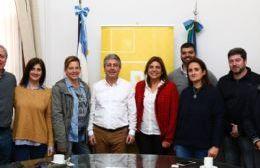 Sandra Paris visitó Pergamino y se reunió con referentes locales de Cambiemos.