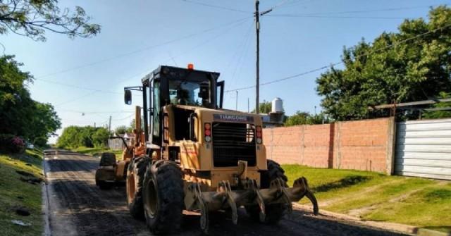 Mejoras en barrio La Laguna